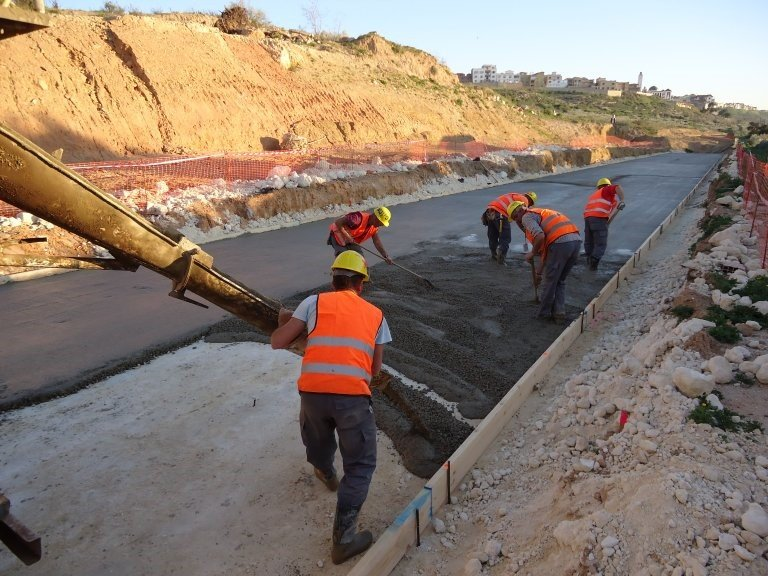 CONSTRUCTION OF MOSTAGANEM TRAMWAY