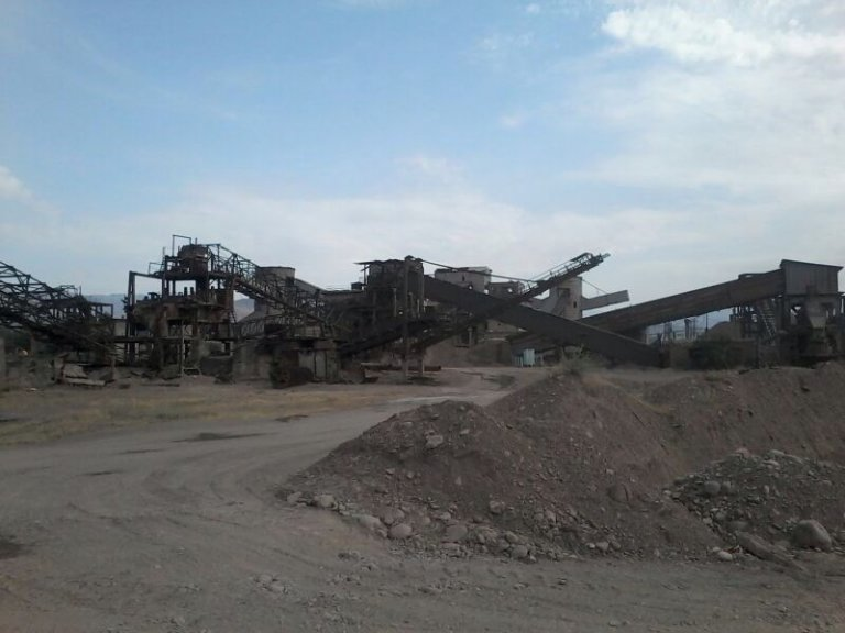 GROUND AND CONCRETE PLANT IN UZBEKISTAN